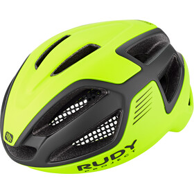 Rudy Project Spectrum Cykelhjelm, yellow fluo/black matte